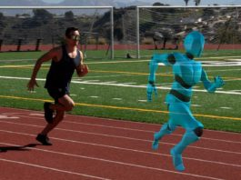 ghost pacer augmented reality training