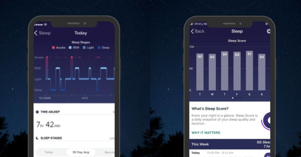 Fitbit Sleep Score 2