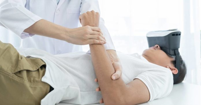 virtual reality physical therapy main